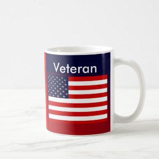 PROUD USA VETERAN  Patriotic Coffee Mug