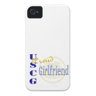Proud USCG Girlfriend Blackberry Bold Case
