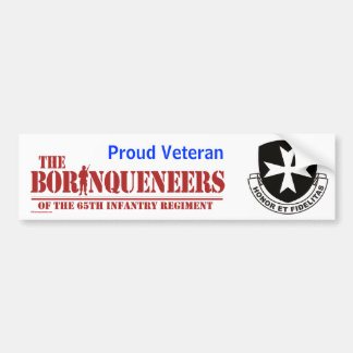 Proud Veteran - Bumper Sticker