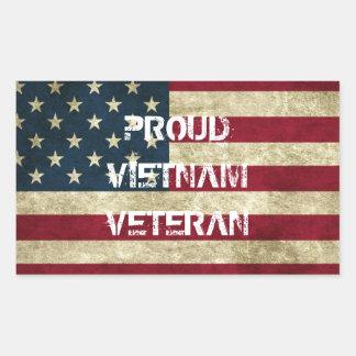 Proud Vietnam Veteran Sticker