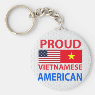 Proud Vietnamese American Keychain