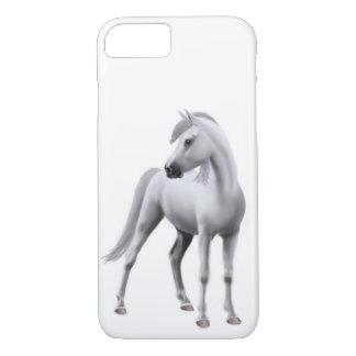Proud White Arabian Horse iPhone 7 Case