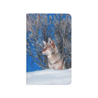 Proud Wolf Winter Snowstorm Nature Wildlife Photo Journal