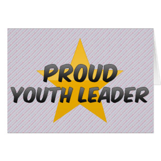 Proud Youth Leader Card