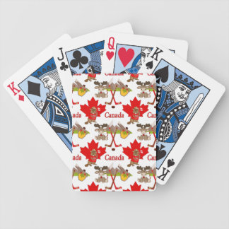 Proudly Canadian Beaver Poker Deck