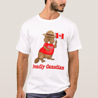 Proudly Canadian Beaver T-Shirt