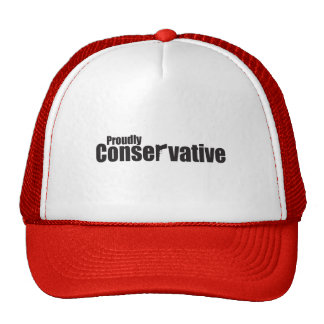 Proudly Conservative Mesh Hat