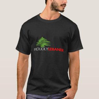 Proudly Lebanese T-Shirt, Proud To Be Lebanese T-Shirt