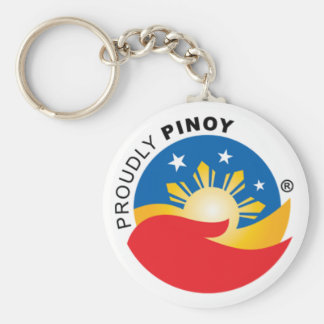 Proudly Pinoy Official Keychain