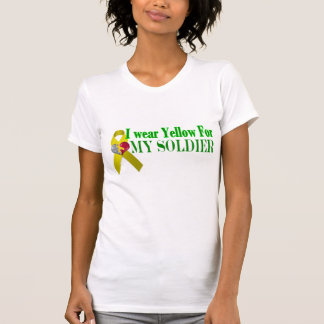 Proudly Supporting my Soldier-Fiance T Shirt