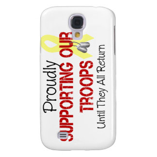 Proudly Supporting Our Troops Samsung Galaxy S4 Covers