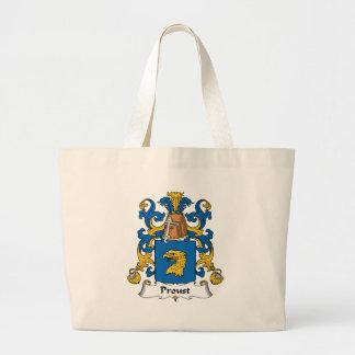 Proust Family Crest Jumbo Tote Bag