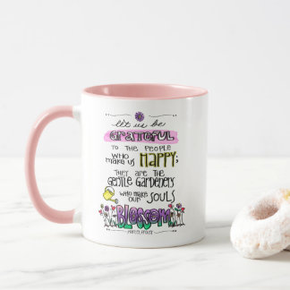 Proust Quote Let Us Be Grateful Two-Tone Mug