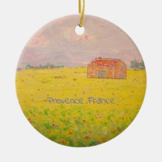 Provence France Ceramic Ornament