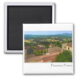 Provence France Square Magnet