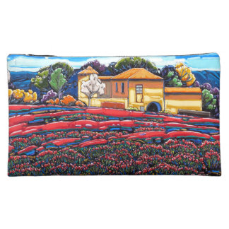 Provence Poppies Medium Cosmetic Bag