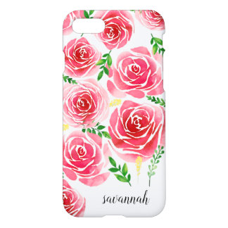 Provence Rose Personalized iPhone 8/7 Case