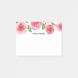 Provence Rose Personalized Post-it Notes