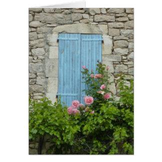 Provence Window Scene Card