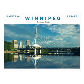 Provencher Bridge Postcard