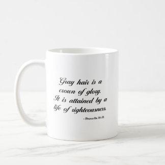 Proverbs 16:31 | Bible Verse Coffee Mug