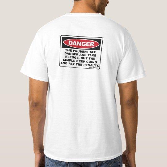 Proverbs 22:3 T-Shirt