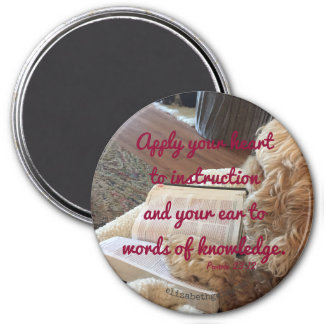 Proverbs 23:12 magnet