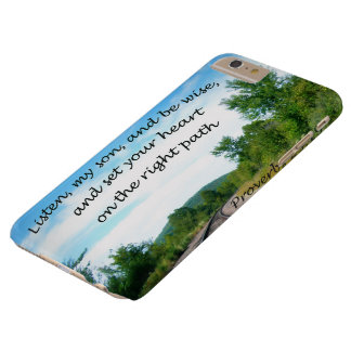 Proverbs 23:19 barely there iPhone 6 plus case