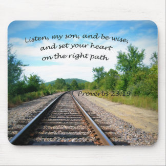 Proverbs 23:19 mouse pad