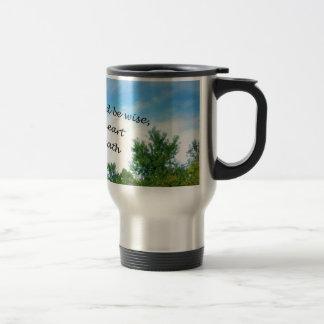 Proverbs 23:19 travel mug