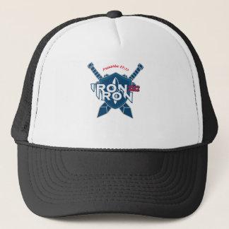 Proverbs 27:17 Iron Sharpens Iron Trucker Hat