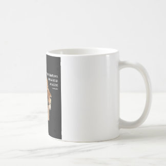 Proverbs 28:1 coffee mug