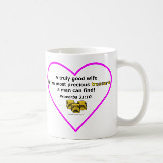 Proverbs 31:10 Coffe Mug