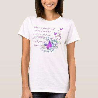 Proverbs 31:30/ Butterfly T-Shirt