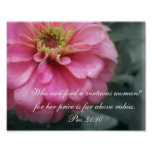 Proverbs 31 Collection~ Pro 31:10 Poster