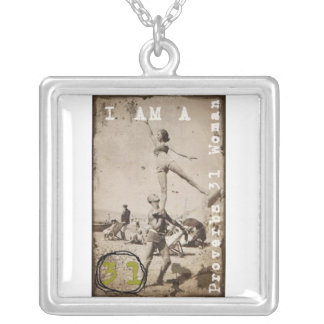 Proverbs 31 Woman Christian Necklace