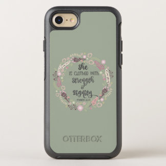 Proverbs 31 Woman Strength and Dignity OtterBox Symmetry iPhone 8/7 Case
