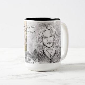 Proverbs 31 Woman Two-Tone Coffee Mug