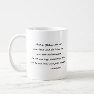Proverbs 3:5-6 | Bible Verse Coffee Mug