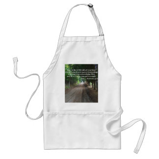 Proverbs 3 5-6 Christian Bible Verse Poster Aprons
