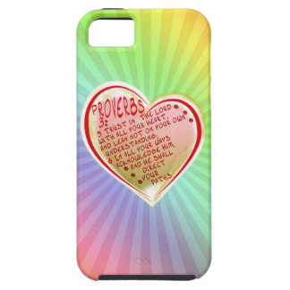 PROVERBS 3:5-6 TRUST IN THE LORD W ALL YOUR HEART iPhone 5 COVERS
