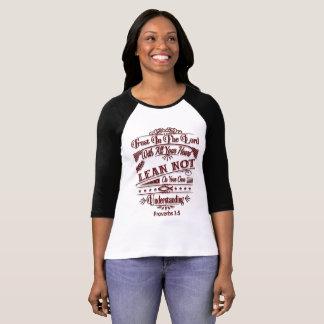 Proverbs 3:5 Women's T-Shirt