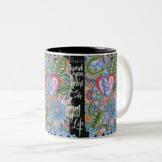Proverbs 4:23 bible verse- Guard your heart Mug