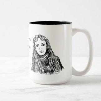Proverbs Woman Two-Tone Coffee Mug