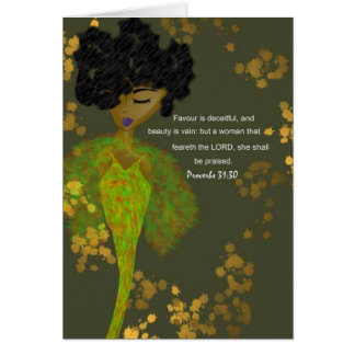 Proverbs Women Card