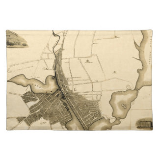 Providence 1823 placemat