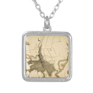 Providence 1823 silver plated necklace