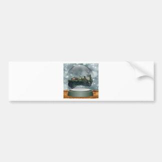 Providence Island Snow Globe Bumper Sticker