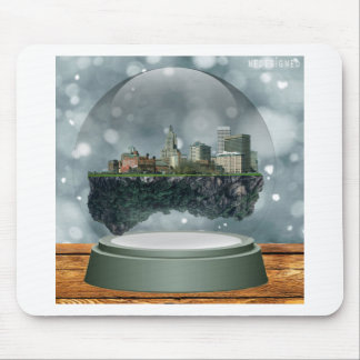 Providence Island Snow Globe Mouse Pad