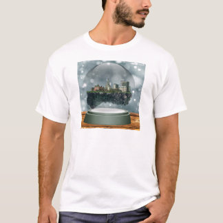 Providence Island Snow Globe T-Shirt